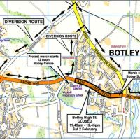 Botley High St to close for protest