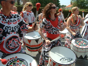 Hedge End Carnival 2013 - Batala Drummers