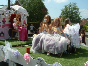 Hedge End's Carnival Queen and Princesses