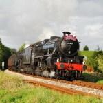 black 5 45407 Explorer stuart Warr