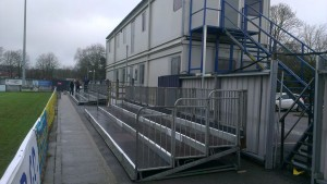 New terracing ready for upcoming games