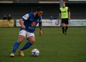 Stuart Fleetwood suspended for tomorrow's clash