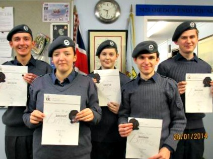 Hedge End Air cadets