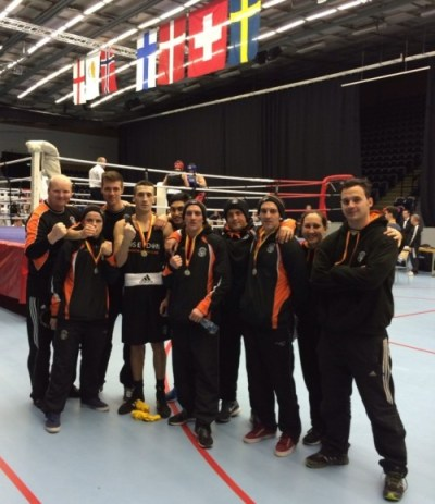 The Poseidon Team at the Malmo Boxing Competition