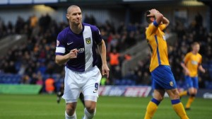 New Signing: Striker James Constable playing for Oxford last season