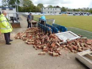 New dugouts is just one of the exciting summer plans for Eastleigh