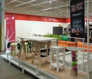 The winning designs on display in Ikea