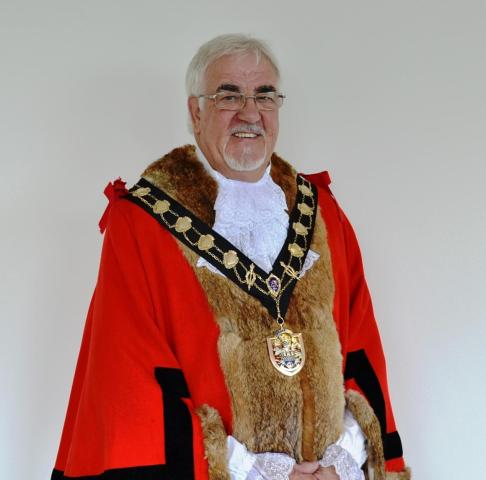 Cllr Tony Noyce is Eastleigh's new mayor