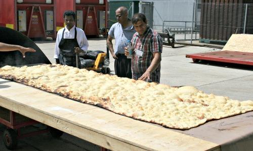 Giant naan