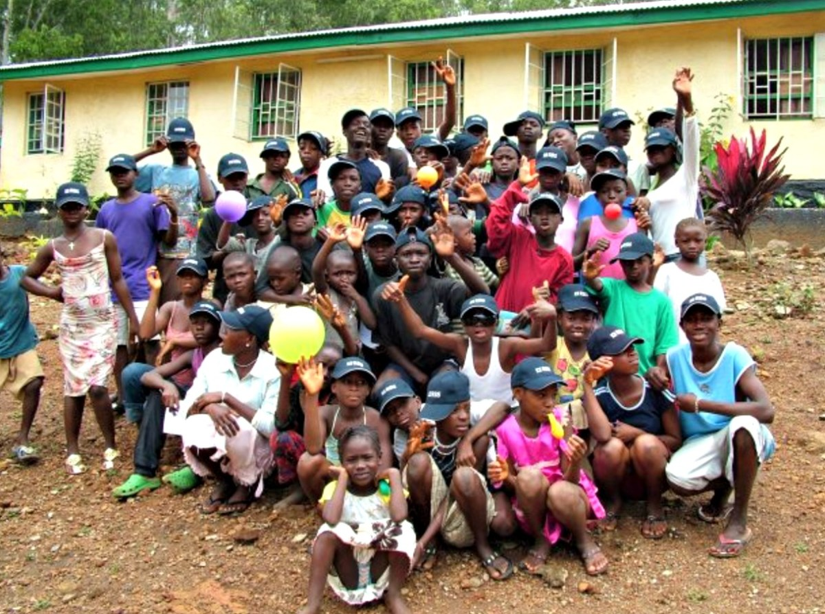 Local charity delivering aid in Ebola hit Sierra Leone