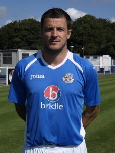 Craig McAllister netted in Eastleigh's second on Saturday