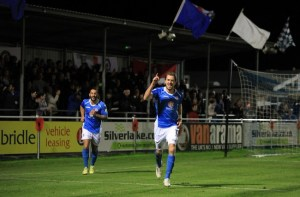 Jack Midson put Eastleigh in front on Tuesday