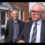 Norman Lamb and Mike Thornton