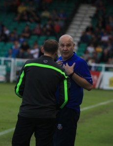 Eastleigh manager Richard Hill resigns (photo by Tony Smith)