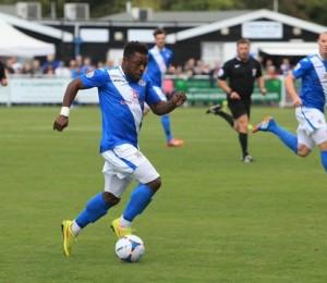 Yemi Odubade came close to equalising (photo by Tony Smith)