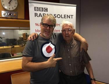 Solent's Alex Dyke with Bill Palmer