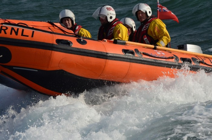Eastbourne RNLI lifeboat crew