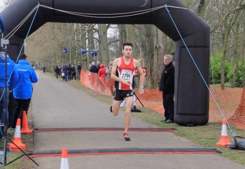 First at last. Three attempts three podium finishes for Adam Hickey . Pic Yee Teoh