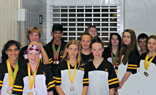 It's medals galore for Easlteigh's swimmers