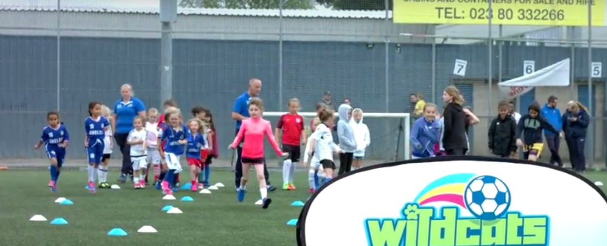 Girls from Hampshire encouraged to get into football