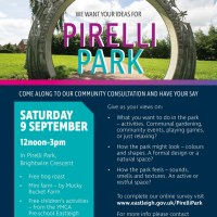 Eastleigh residents asked for Pirelli Park ideas