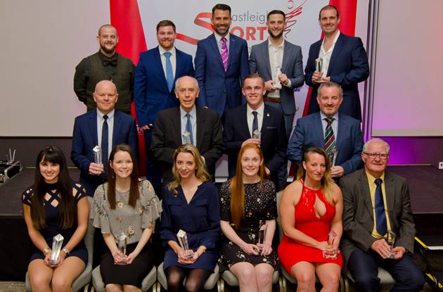 Sporting Achievements recognised at Eastleigh Sports Awards