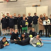 Community sports club wins 'Clubmark' award