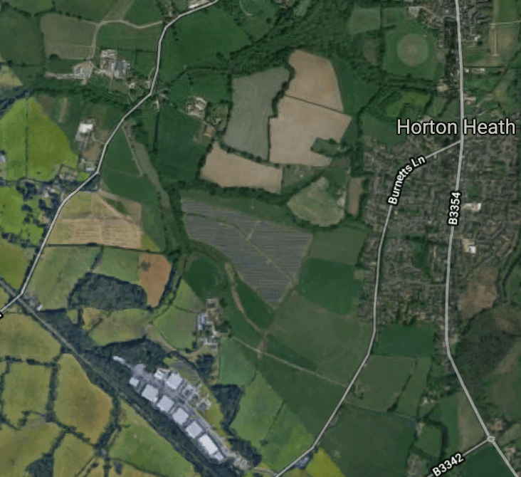 Council to build 1,400 new homes in Horton Heath