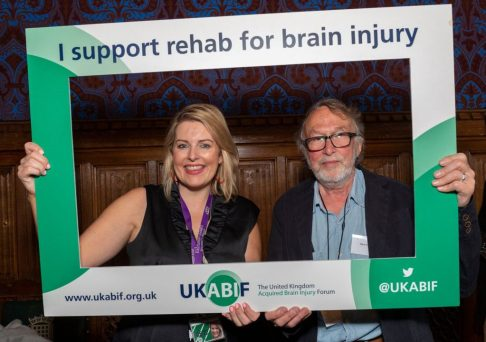 Mimi Davies MP and Steve Whitehead