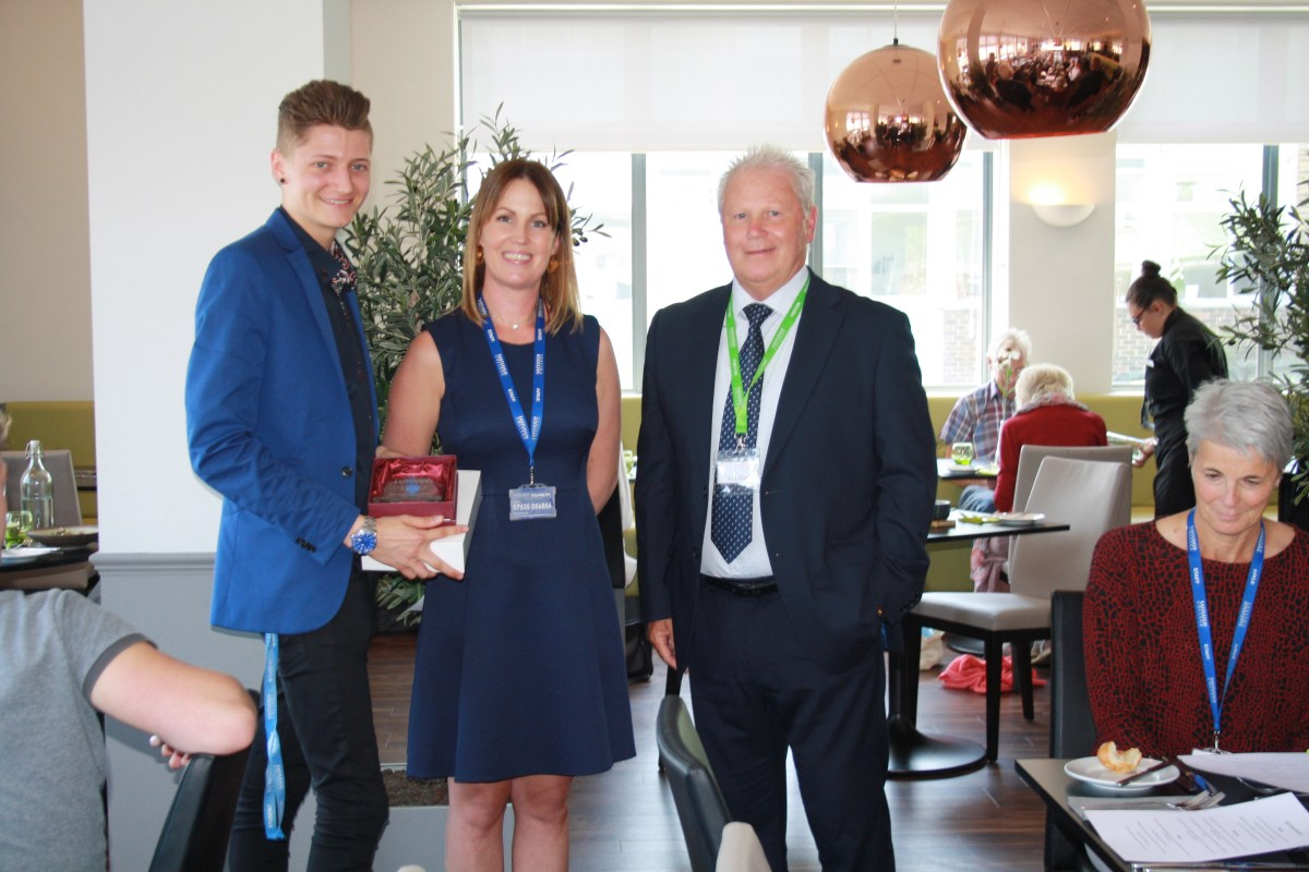 Eastleigh college student wins Young Entrepreneur of the Year Award