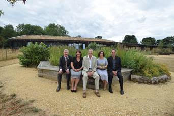 Lakeside Centre scoops top environmental award