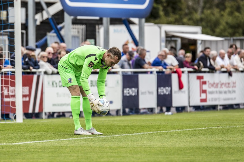 Eastleigh keeper Graham Stack departs