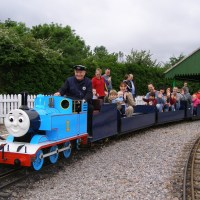 End of an era as Thomas the Tank toots his last horn at Eastleigh Lakeside Steam Railway