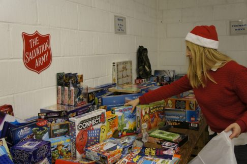 Salvation Army Christmas toy appeal