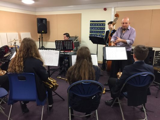 Barton Peveril holds Jazz Workshop