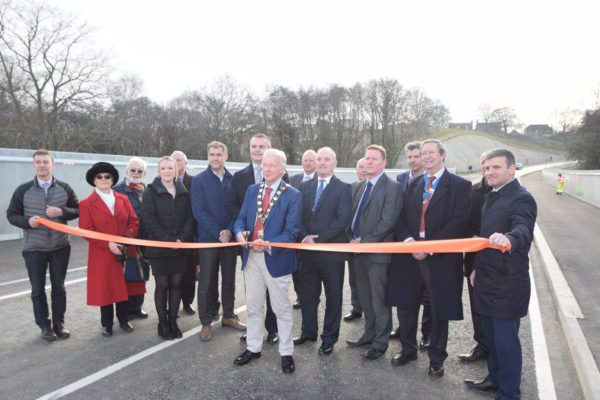 New road opens in Hedge End