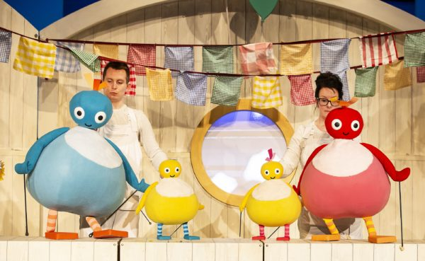 The cast of Twirlywoos Live Pamela Raith Photography 1