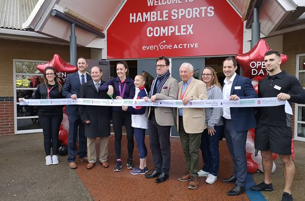 Council helps to fund new gym at Hamble Sports Complex