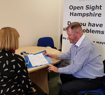 Open Sight Eastleigh Information Hub Drop In