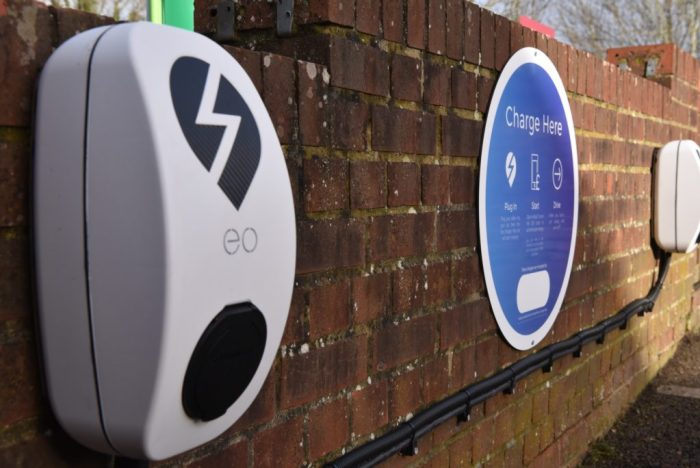 SM electric car vehicle charge point