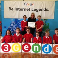 MP Mims and Google visit Shamblehurst Primary