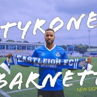 Eastleigh sign Tyrone Barnett