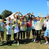 Wacky Southampton fun run raises over £10,000 for local hospices