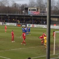 10-man Eastleigh draw 1-1 despite Ebbsfleet missing two penalties