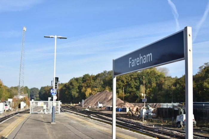 Fareham station