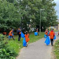Residents of all ages join litter picking effort