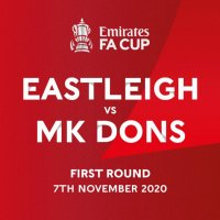 Eastleigh draw MK Dons at home in FA Cup First Round draw
