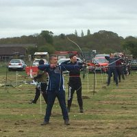 Local archers let fly in Big Reopening