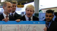 Boris ushers Oyster onto National Rail. Photo: Matt Kendall