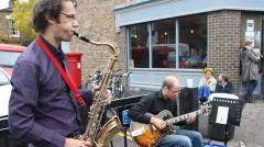 Jonnie and Frank are in Broadway market every week